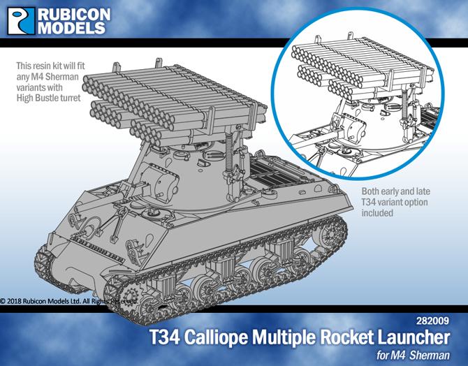 T34 Calliope Multiple Rocket Launcher